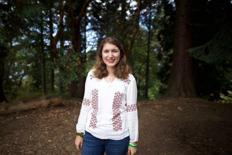 Dora Totoian is a senior reporter and copy editor for The Beacon. Photo by Brennan Robinson/The Beacon.