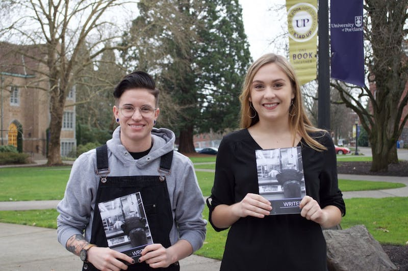 Senior Editors Keaton Gaughan and Emily Nelson are now accepting creative submissions for the 2018 edition of Writers Magazine.
