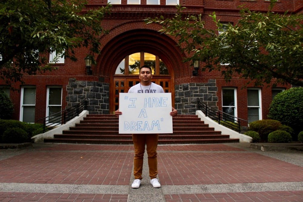 Efrain Venegas Ramirez, one of the 800,000 DACA beneficiaries, shares his story in hopes of reminding people that immigration is a human issue, and starting a dialogue on The Bluff.