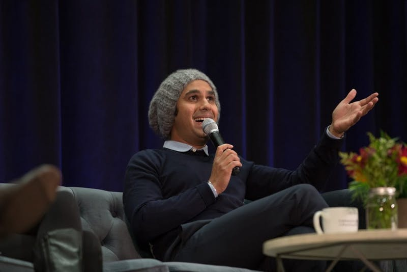 Kunal Nayyar discussed topics ranging from his old house at UP to portrayals of Indians in movies and television.