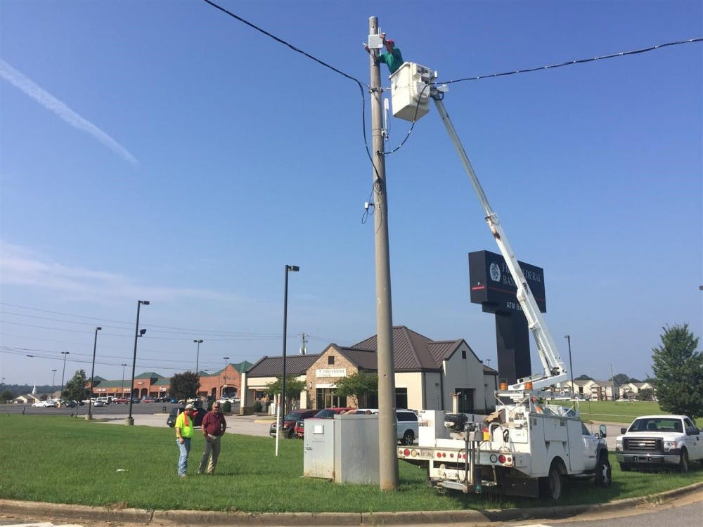 UA, ALDOT install driving data devices in Tuscaloosa