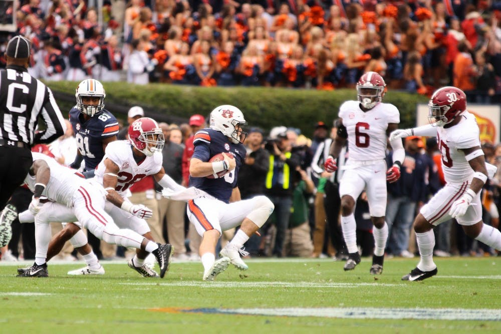 Jarrett Stidham dominates Alabama in Iron Bowl