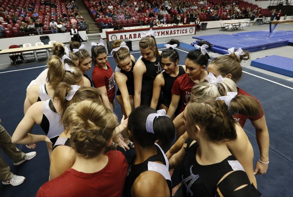 Alabama gymnastics showcases newcomers in Crimson and White preview