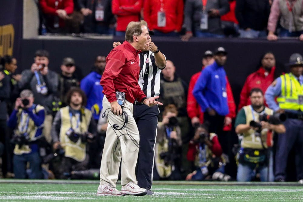 OPINION: Bold moves in national championships prove that Nick Saban is college football's greatest coach