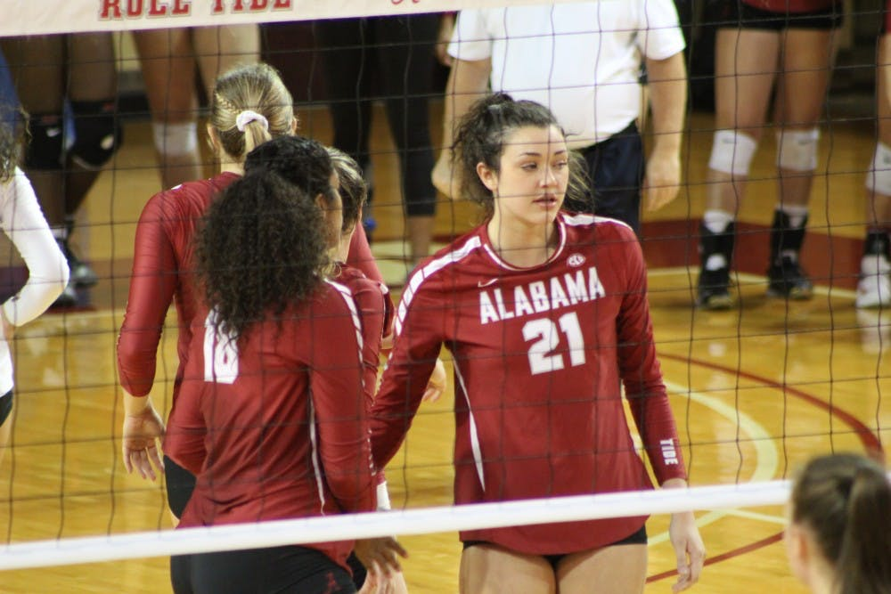 Ginger Perinar carving out important role in first year with Alabama