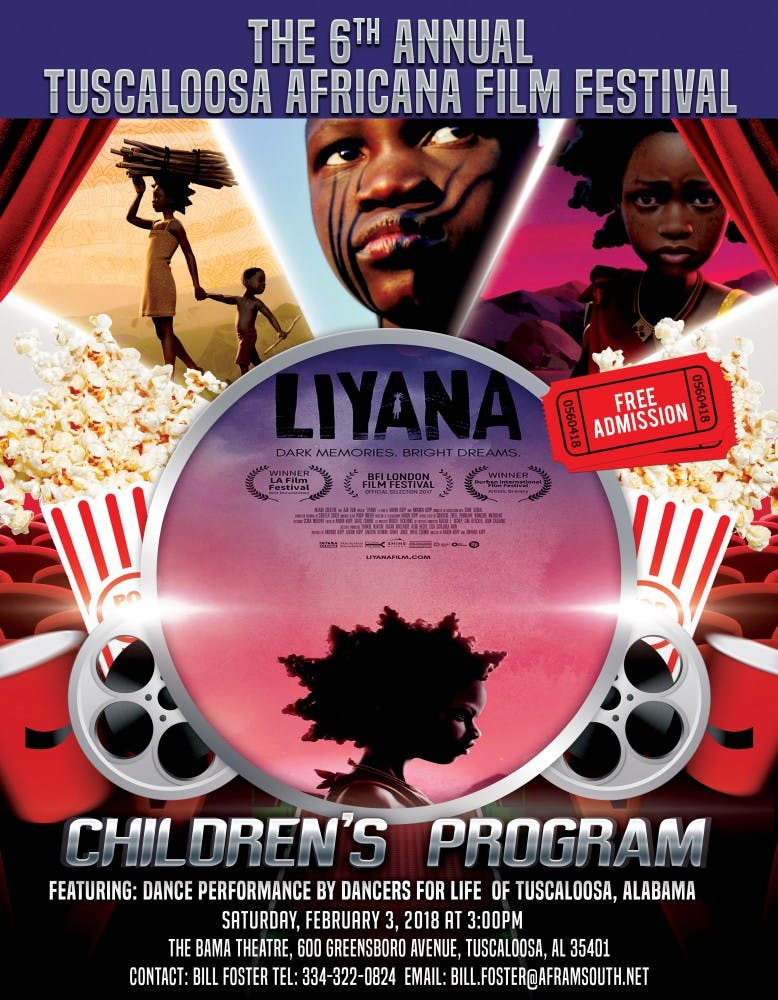 Bama Theatre to host African film fest