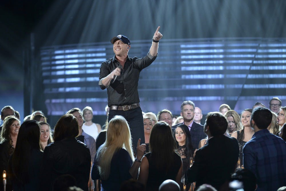 Country singer Cole Swindell to perform tonight