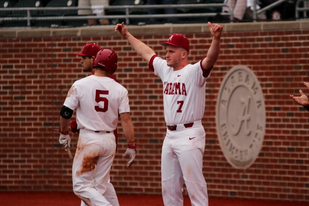 Alabama takes both games in Friday double header