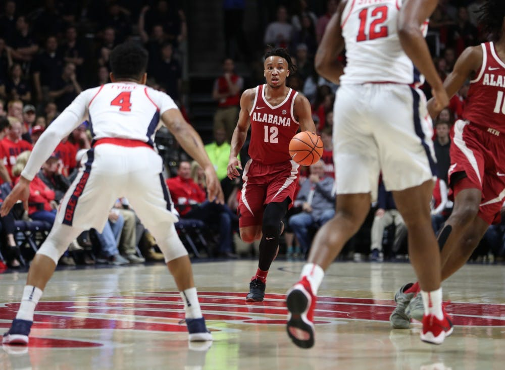 Alabama basketball's winning streak comes to an end against Ole Miss
