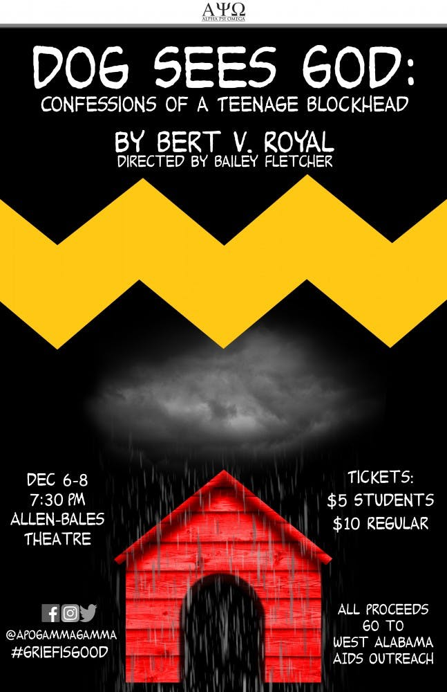 Theatre honor society shows satirical Peanuts play