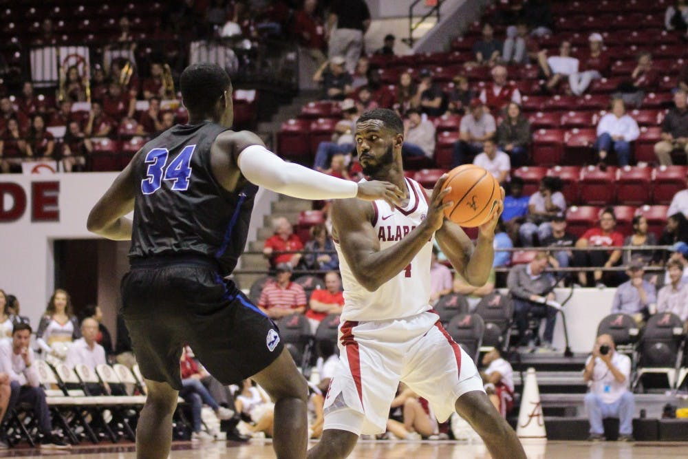 Trio of Alabama newcomers shine as key players sit out in exhibition win over UAH