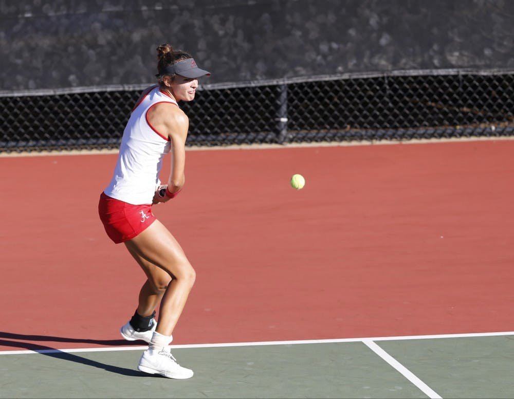 Championship mentality: Andie Daniell fuels the Crimson Tide