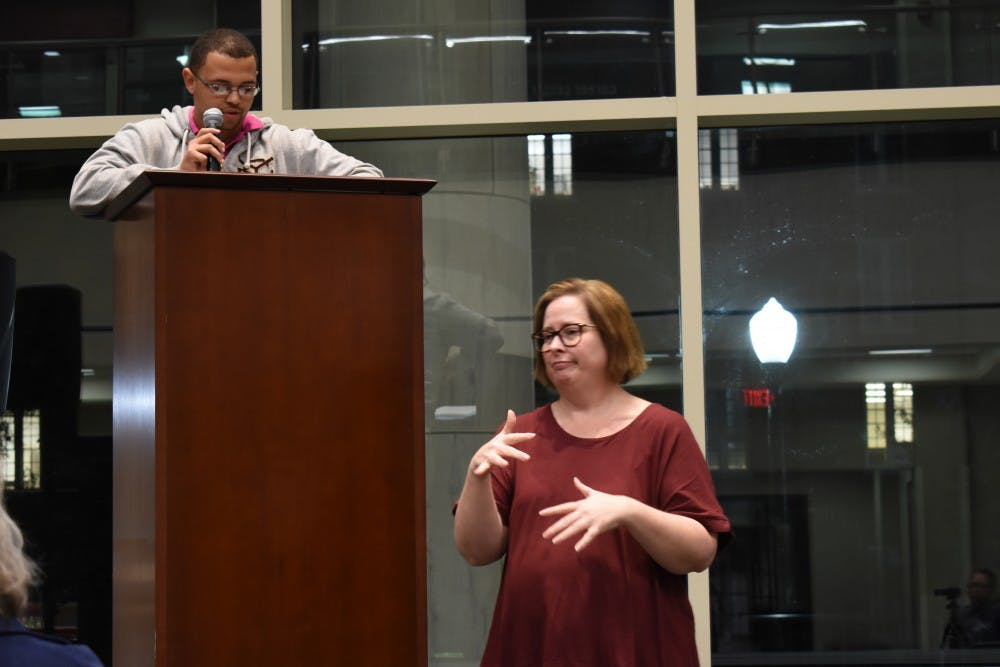 Students, faculty discuss life on campus with a disability