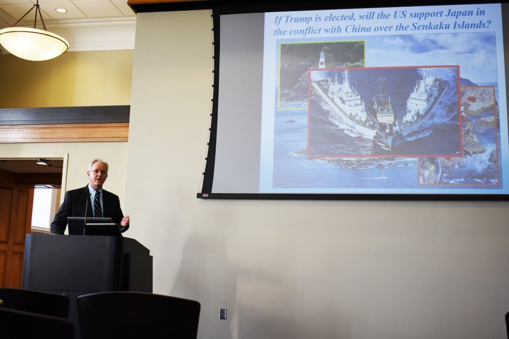 Professor discusses unexpectedly stable Japan, US relations