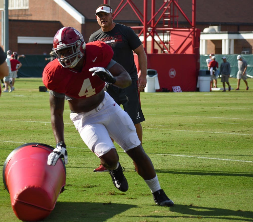 PRACTICE REPORT: Alabama continues Tennessee preparation