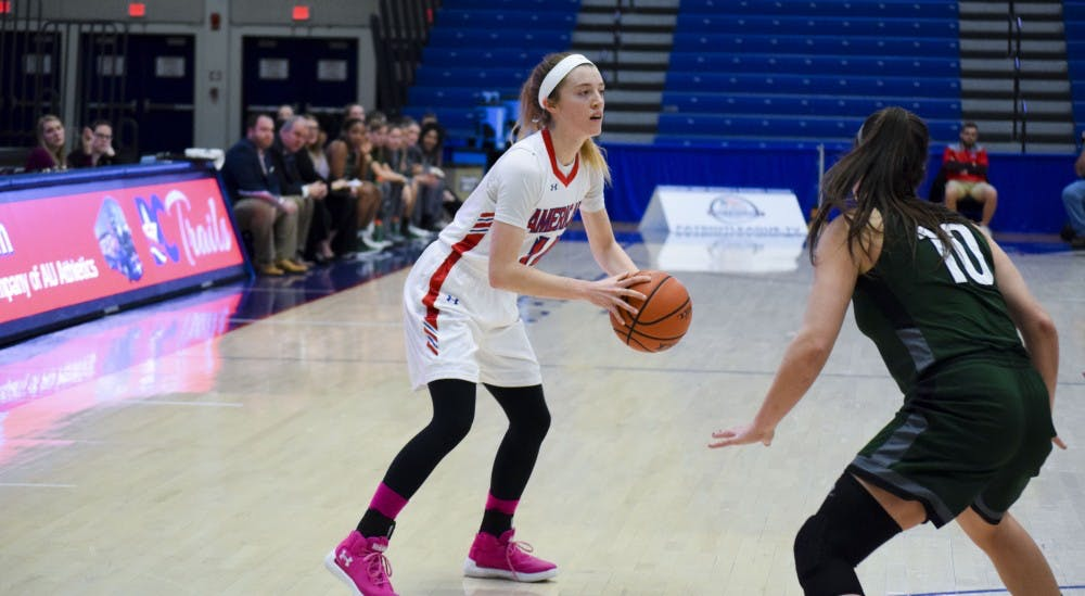 Women's basketball wins 13th consecutive game over Loyola Maryland