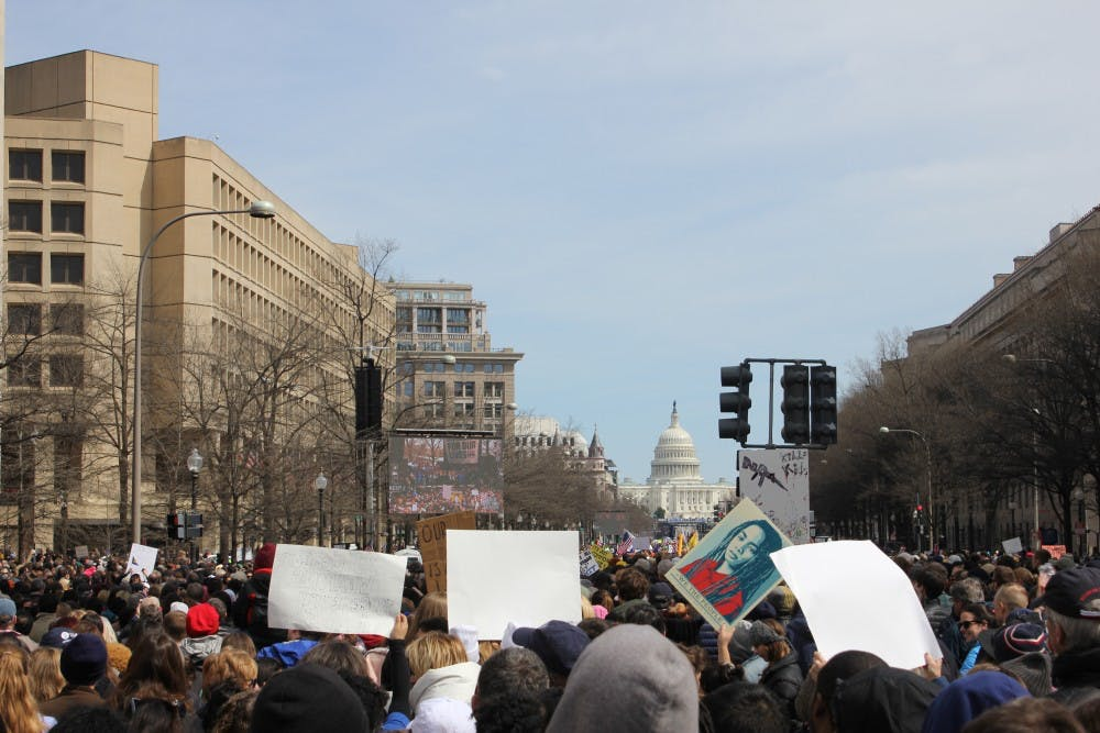 Incoming freshmen organize school walkouts protesting gun violence