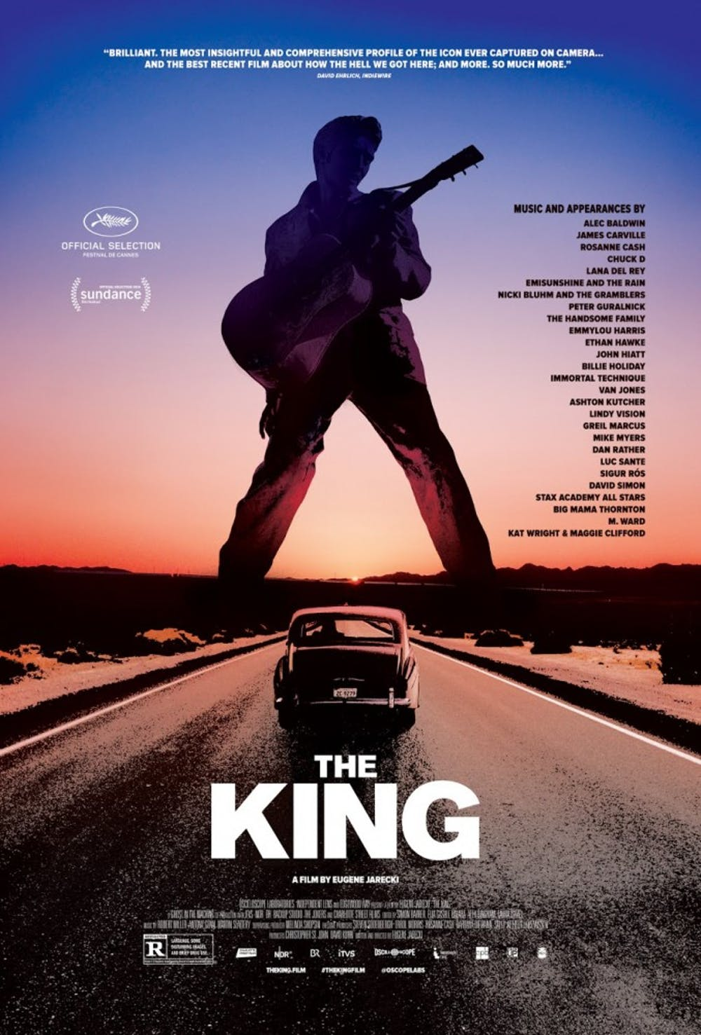 """Elvis as a symbol of Americana in """"The King"""""""