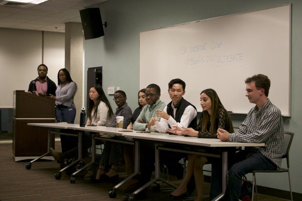 Student Government candidates address diversity, dining and classroom bias at first Black Caucus debate