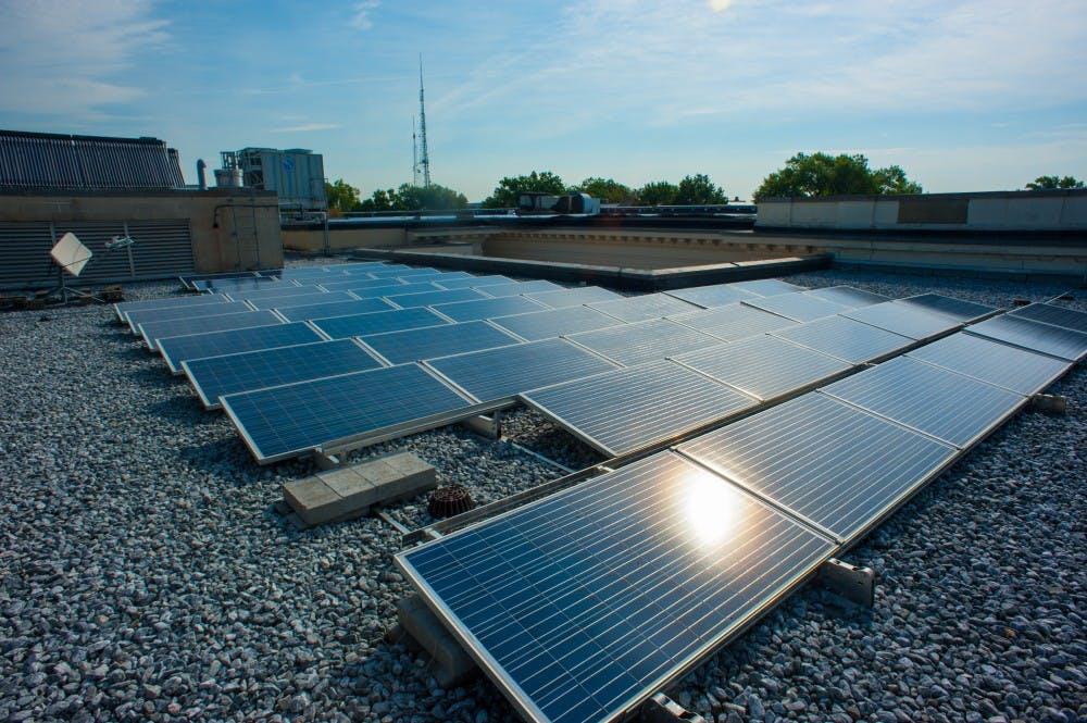 North Carolina sunshine to help power AU, GWU classrooms by 2015