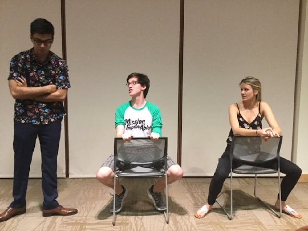 Review: Mission: Improv-able final semester performance