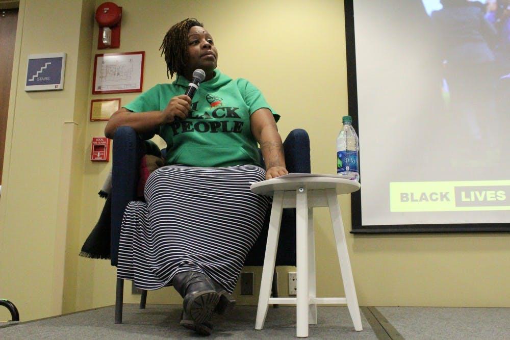 #BlackLivesMatter founder speaks at AU