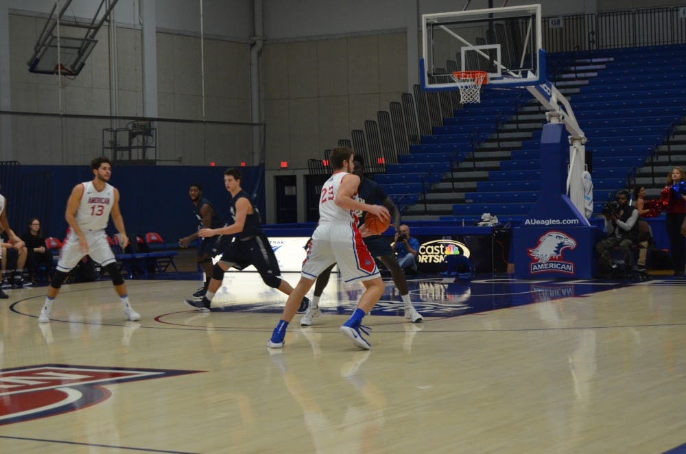 Men's basketball loses to Colgate in final minute