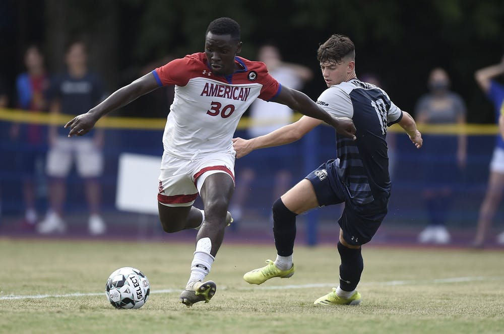 Men's soccer starts the season with a win against Old Dominion
