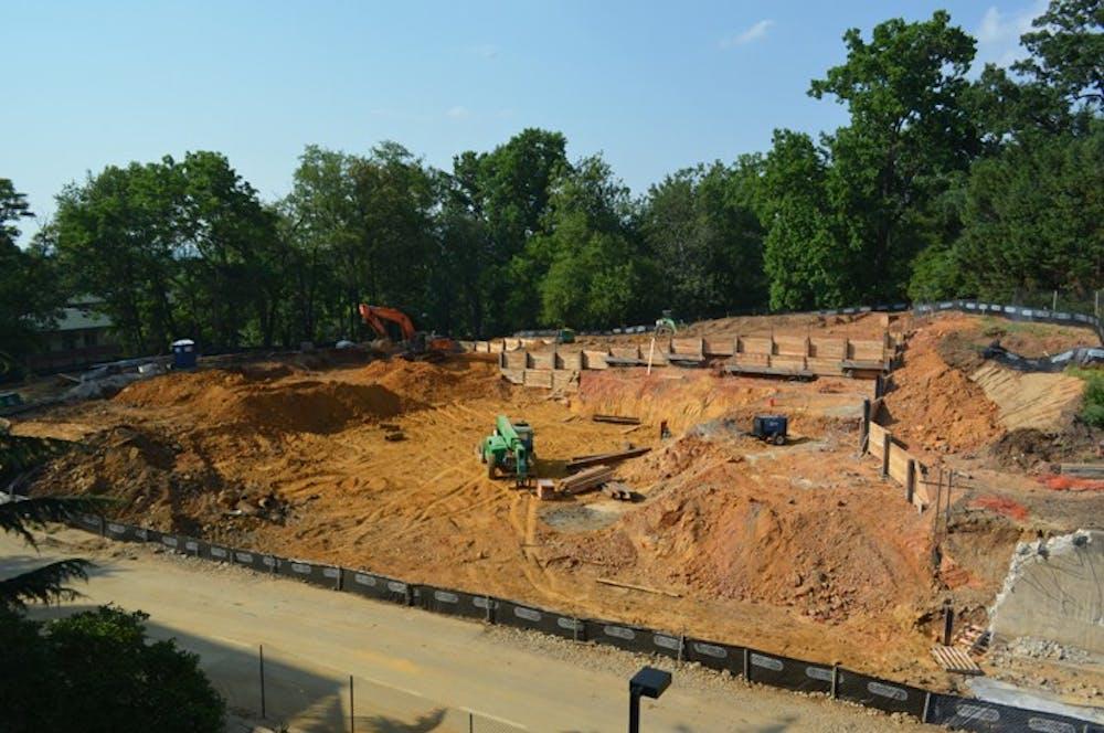 AU begins Campus Plan construction
