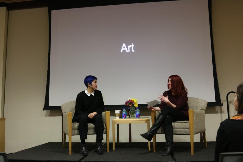 Emma Sulkowicz discusses art and activism on college campuses
