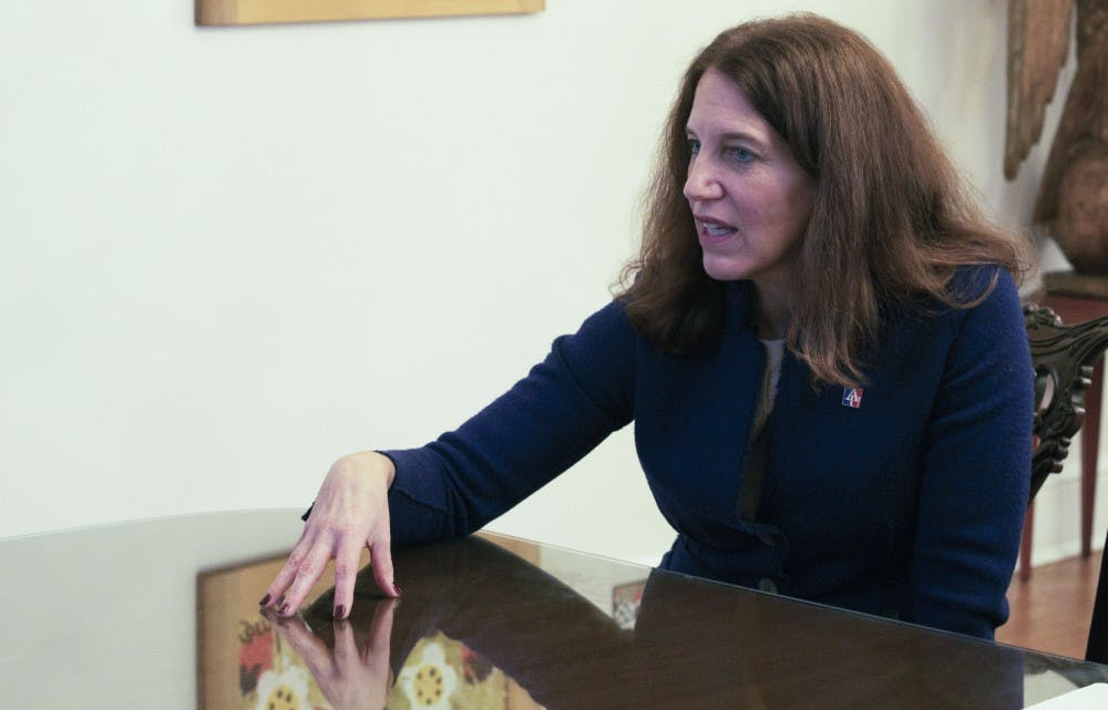 Full transcript: Burwell sits down with The Eagle to talk diversity and inclusion plan