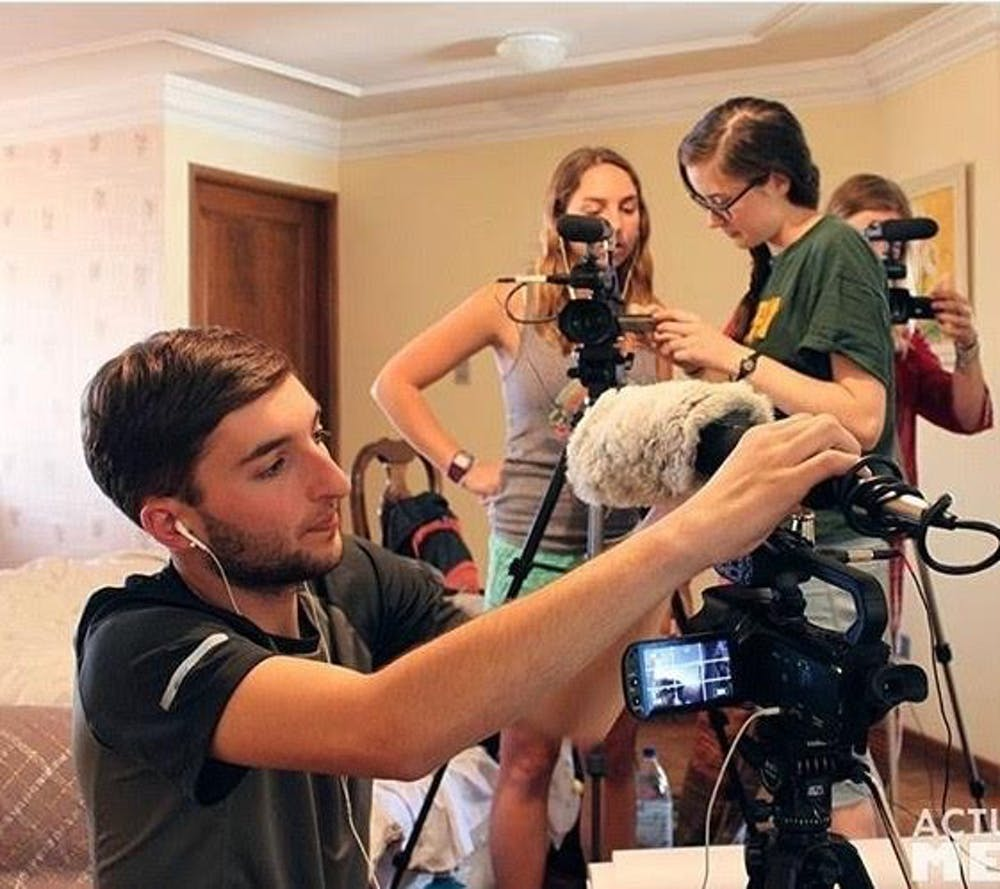 SIS senior works on documentary shot in Bolivia