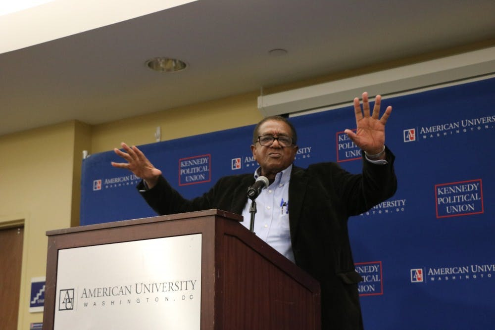 Black Panther Party co-founder Bobby Seale urges political organizing among young people
