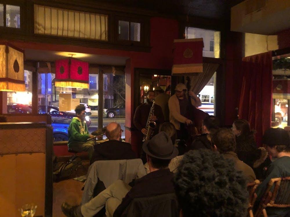 Local saxophonist Elijah Easton transforms local restaurant into jazz club