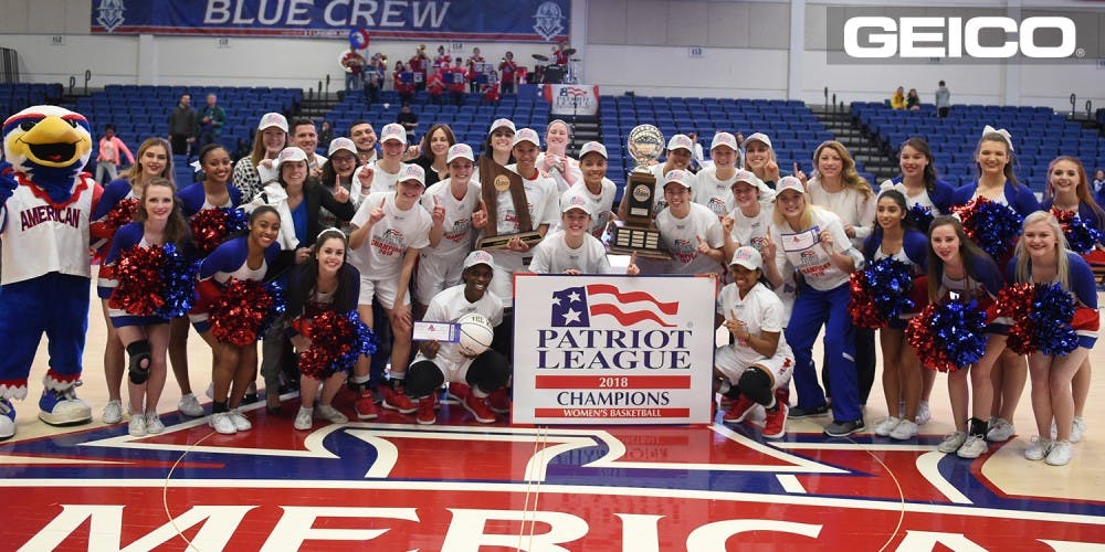 Women's basketball clinches Patriot League title