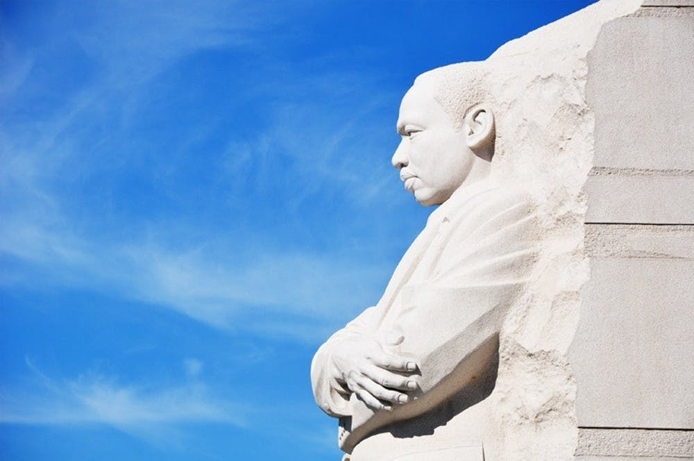 AU students celebrate MLK legacy at memorial
