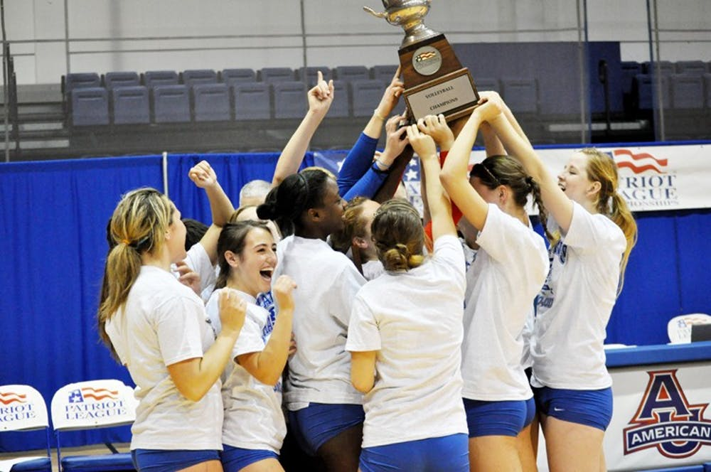 AU reclaims Patriot League Championship with straight set victory over Colgate