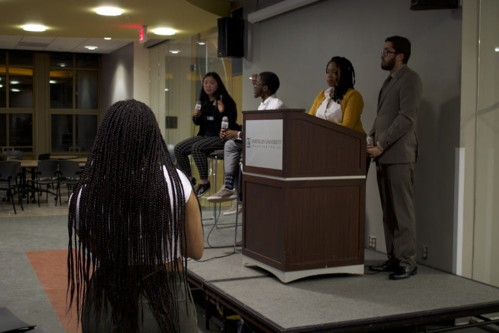 Presidential candidates debate affordability, accountability within Student Government