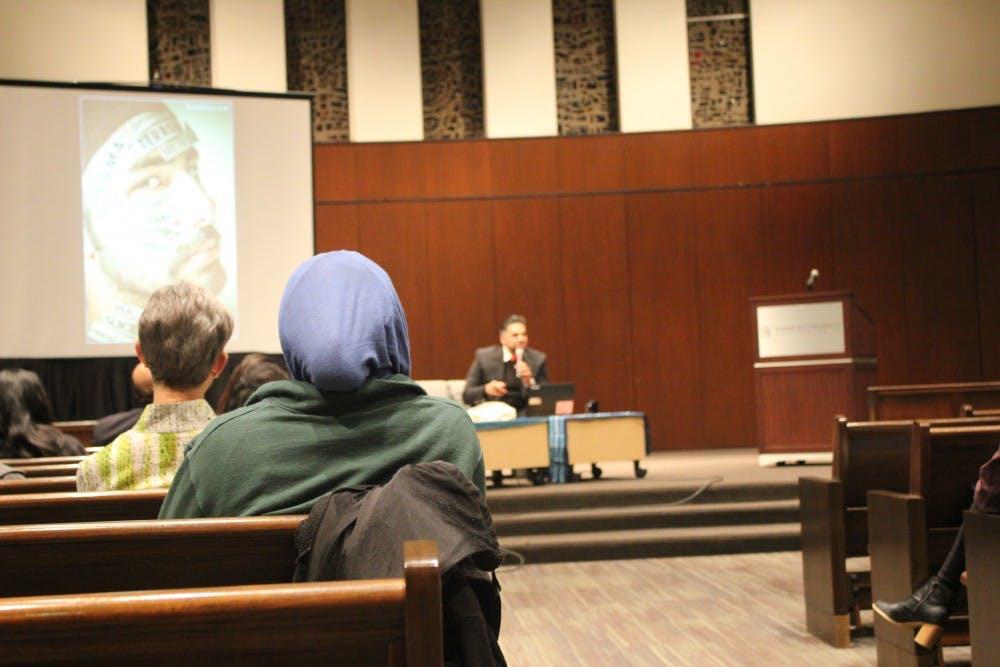 AU's former Muslim chaplain speaks on fight to end Islamophobia