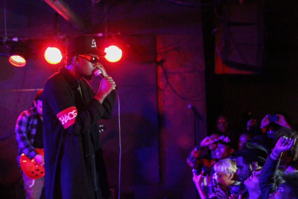 Concert Review: Theophilus London brings more than a concert to U Hall
