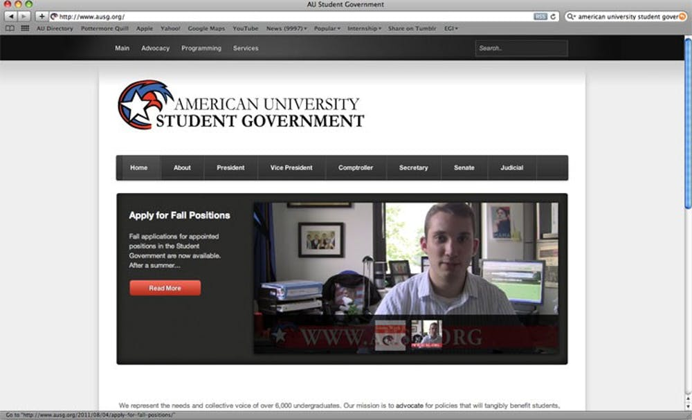 Student Government updates its website for second time in two years