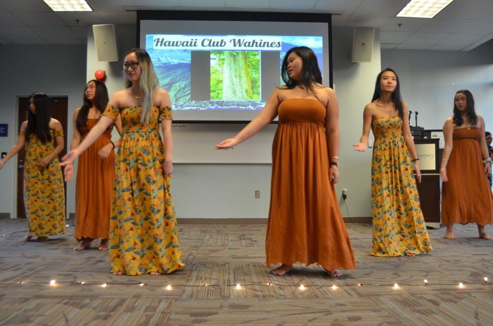 AU Hawaii Club shares culture through 10th annual luau