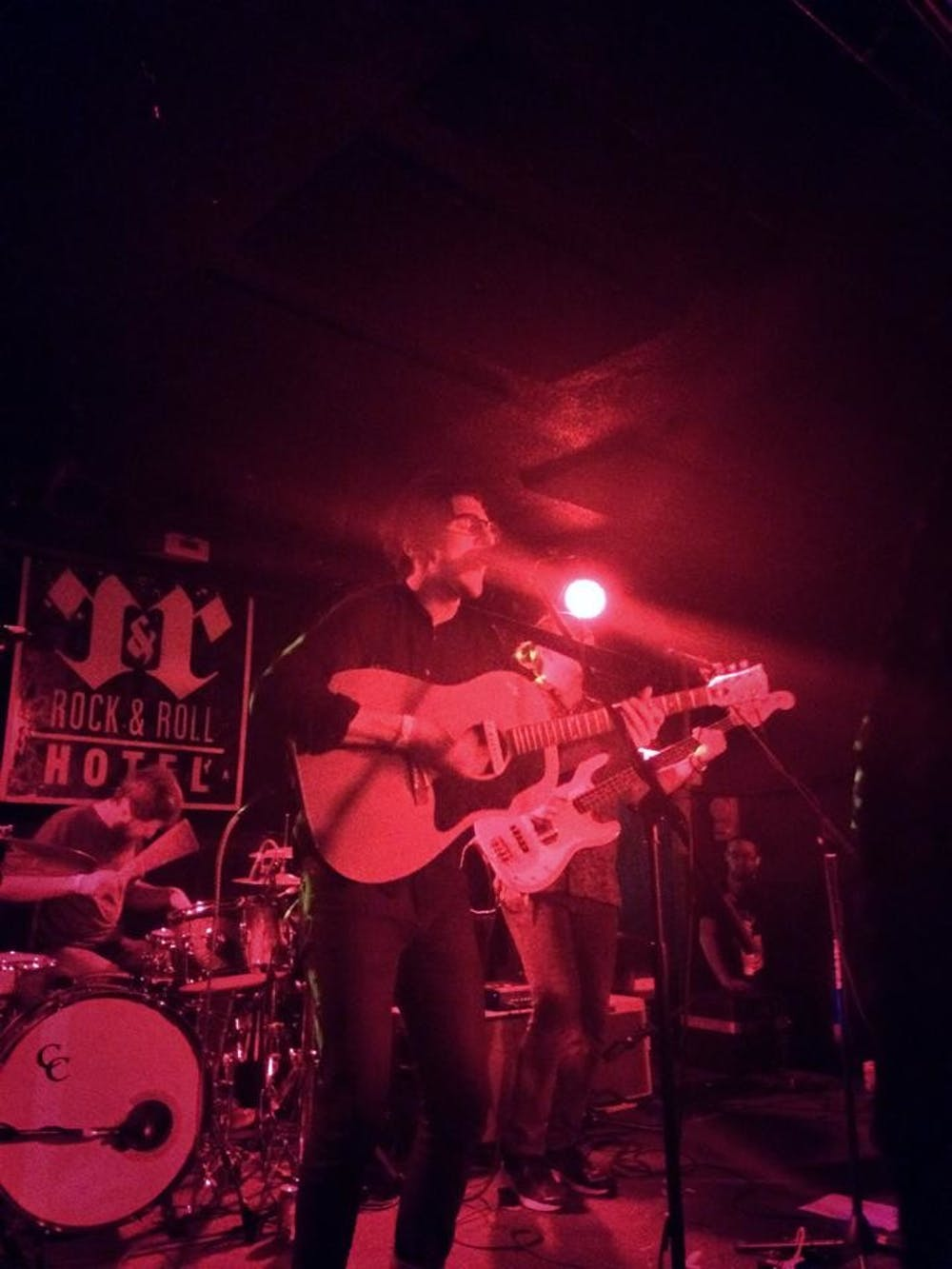 Dan Croll lights up Rock & Roll Hotel
