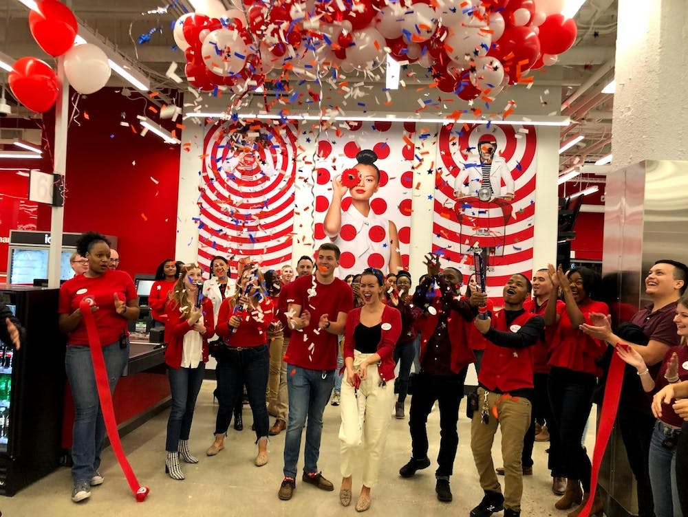 Target makes grand opening in Tenleytown