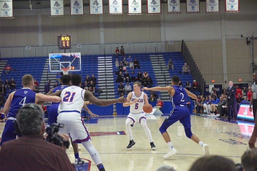 AU men's basketball falls to Lehigh in home finale