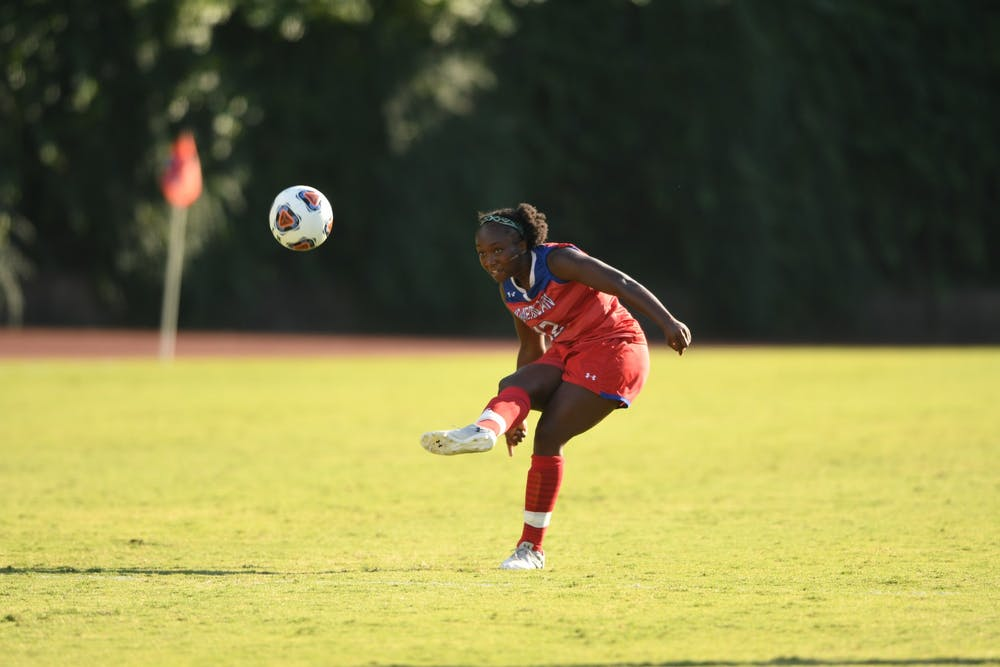Women's soccer wipes away three-game winning streak with a loss to Old Dominion