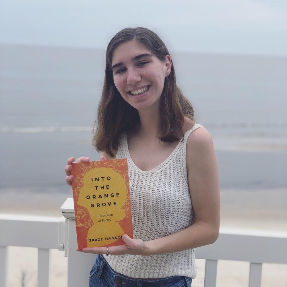 AU junior publishes new book of poetry