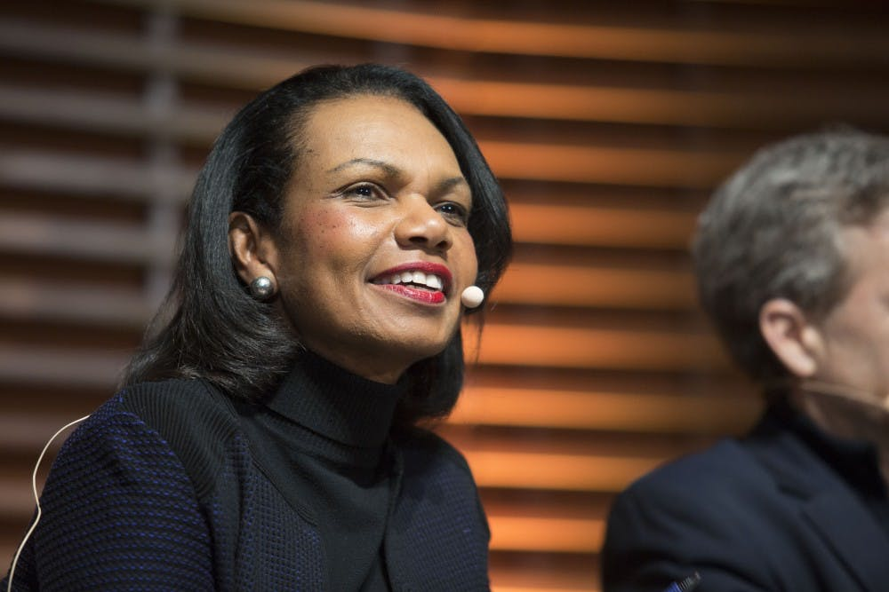 Condoleezza Rice and Phillip Zelikow to speak at AU about upcoming book release