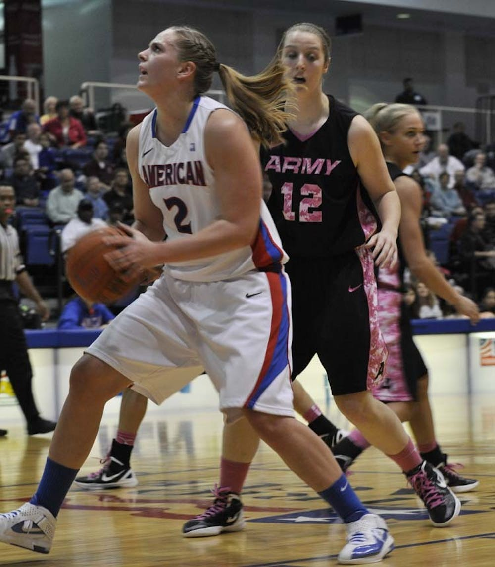 Alexis Dobbs shines as AU women's basketball stays perfect in Patriot League