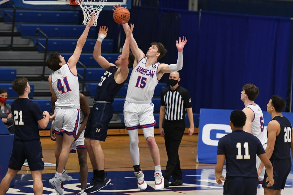AU men's basketball falters in second half, loses to Navy by 12